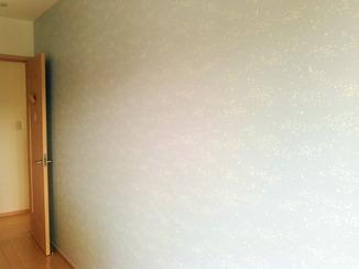 内装リフォーム 間仕切り壁を造作し子どもの部屋を2部屋に