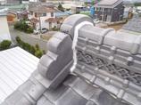 小工事漆喰屋根の修繕