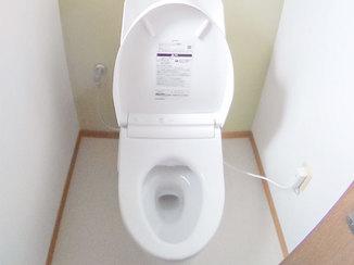 トイレリフォーム 1日でリフォーム完了!アクセントクロスがおしゃれな2つのトイレ