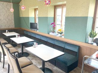 内装リフォーム 施主様のセンスが光る、リニューアルした喫茶店