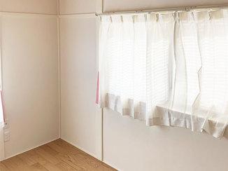 内装リフォーム 土壁の和室をクロスで仕上げ、娘のための洋室に